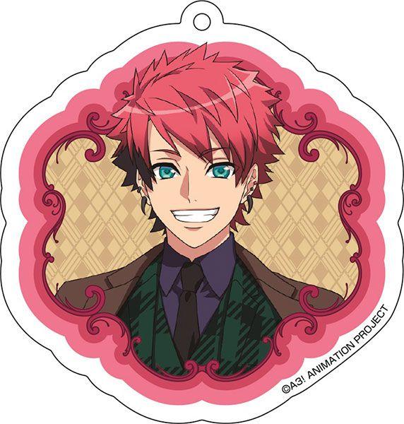 A3! 「七尾太一」花 Ver. 亞克力匙扣 Acrylic Key Chain (3) Taichi Nanao【A3!】