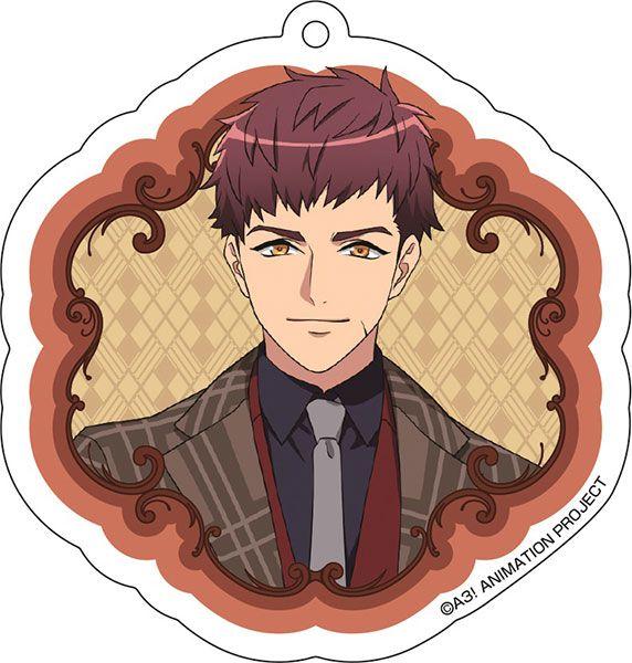 A3! 「伏見臣」花 Ver. 亞克力匙扣 Acrylic Key Chain (4) Omi Fushimi【A3!】
