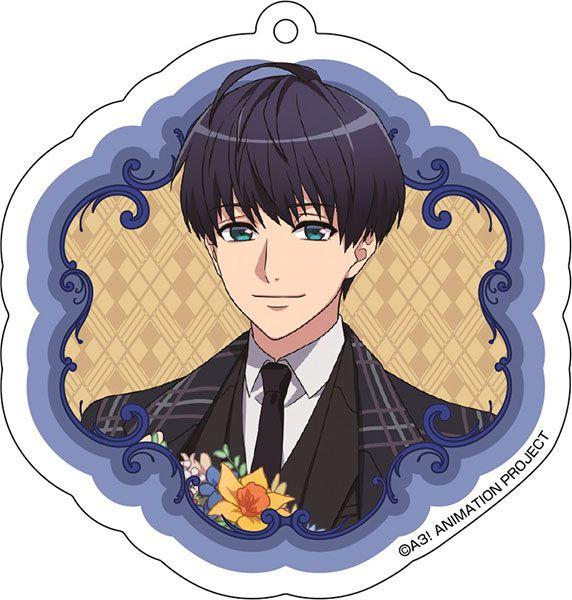 A3! 「月岡紬」花 Ver. 亞克力匙扣 Acrylic Key Chain (6) Tsumugi Tsukioka【A3!】