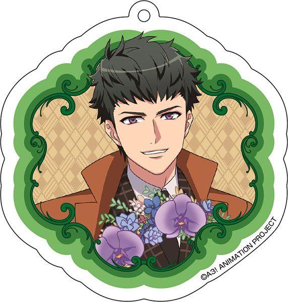 A3! 「高遠丞」花 Ver. 亞克力匙扣 Acrylic Key Chain (7) Tasuku Takato【A3!】