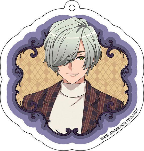A3! 「御影密」花 Ver. 亞克力匙扣 Acrylic Key Chain (8) Hisoka Mikage【A3!】