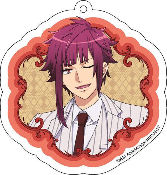 A3! 「有栖川誉」花 Ver. 亞克力匙扣 Acrylic Key Chain (9) Homare Arisugawa【A3!】