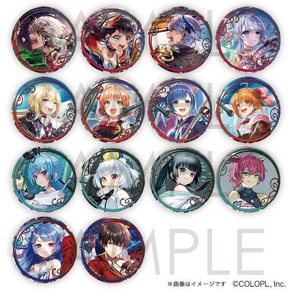 白貓Project 收藏徽章 Vol.4 (14 個入) Event Visual Can Badge Vol. 4 (14 Pieces)【Shironeko Project】
