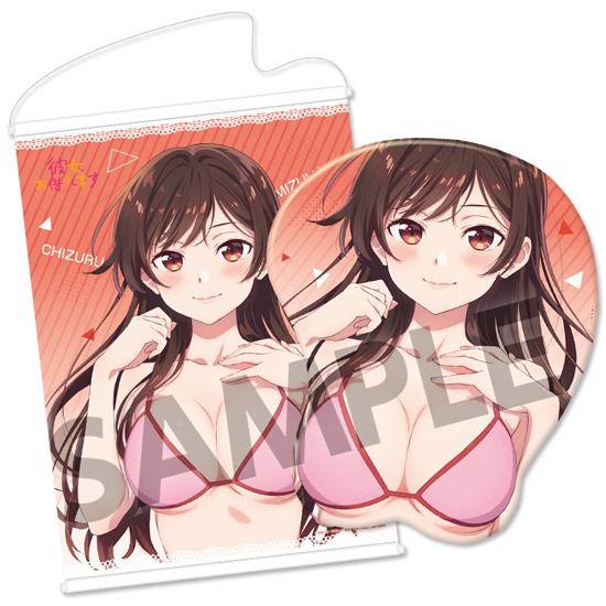 出租女友 「水原千鶴」立體滑鼠墊 (限定特典︰B2 掛布) 3D Mouse Pad Chizuru Mizuhara【Rent-A-Girlfriend】