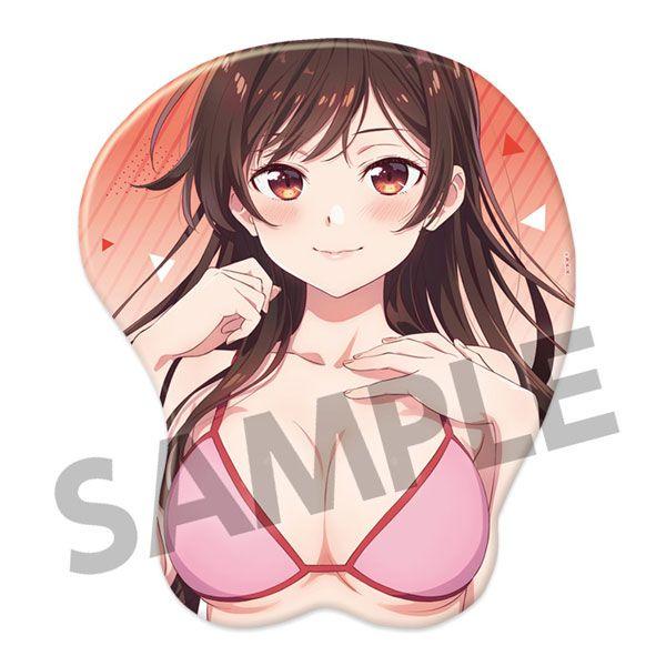 出租女友 「水原千鶴」立體滑鼠墊 3D Mouse Pad Chizuru Mizuhara【Rent-A-Girlfriend】
