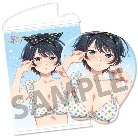 出租女友 「更科瑠夏」立體滑鼠墊 (限定特典︰B2 掛布) 3D Mouse Pad Ruka Sarashina【Rent-A-Girlfriend】
