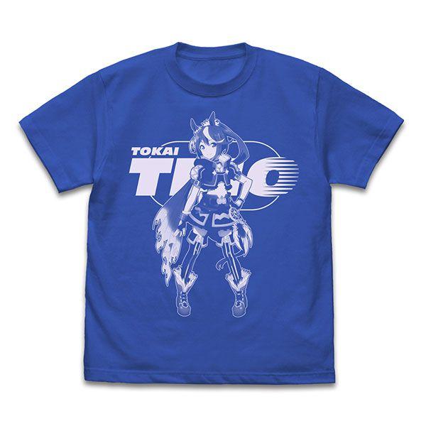 賽馬娘Pretty Derby (中碼)「東海帝皇」寶藍色 T-Shirt TV Anime Tokai Teio T-Shirt /ROYAL BLUE-M【Uma Musume Pretty Derby】