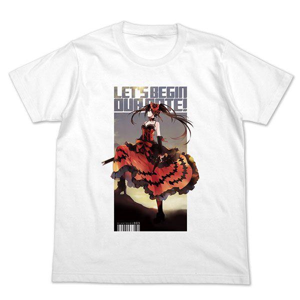 約會大作戰 (加大)「時崎狂三」白色 T-Shirt Kurumi Tokisaki Full Color T-Shirt /WHITE-XL【Date A Live】
