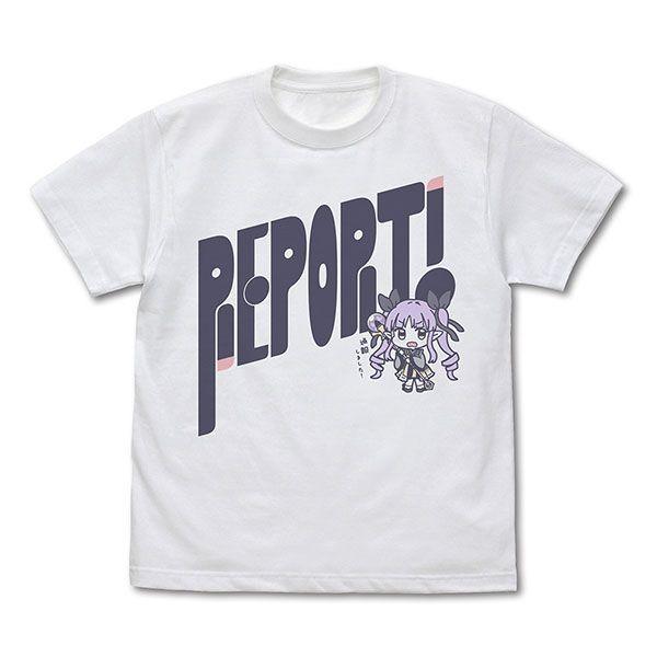 """超異域公主連結 Re:Dive (中碼)「鏡華」白色 T-Shirt Kyouka's """"Report!"""" T-Shirt /WHITE-M【Princess Connect! Re:Dive】"""