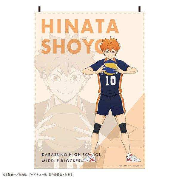 排球少年!! 「日向翔陽」布料海報 Fabric Poster Shoyo Hinata【Haikyu!!】