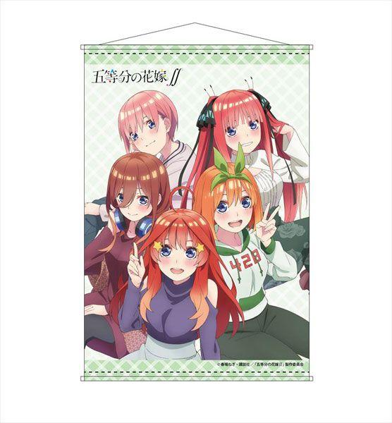 五等分的新娘 B2 掛布 TV Anime B2 Wall Scroll B【The Quintessential Quintuplets】