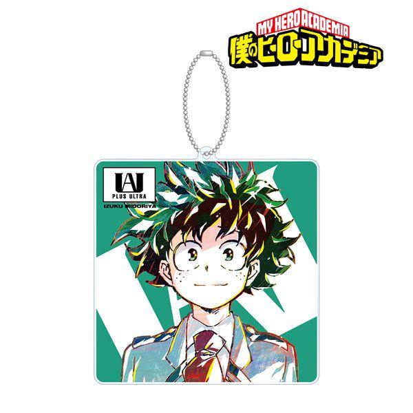 我的英雄學院 「綠谷出久」Ani-Art BIG 亞克力匙扣 Vol.4 Izuku Midoriya Ani-Art Vol.4 BIG Acrylic Key Chain【My Hero Academia】