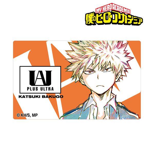 我的英雄學院 「爆豪勝己」Ani-Art 咭貼紙 Vol.4 Katsuki Bakugo Ani-Art Vol.4 Card Sticker【My Hero Academia】