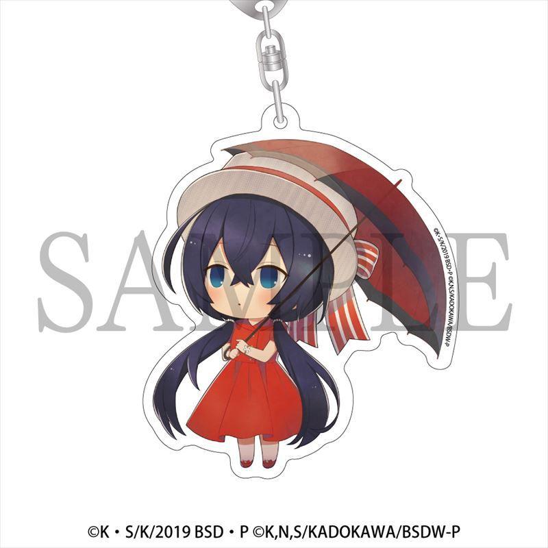 文豪 Stray Dogs 「泉鏡花」雨傘 Ver. 亞克力匙扣 Kasakko Acrylic Key Chain Izumi Kyoka【Bungo Stray Dogs】
