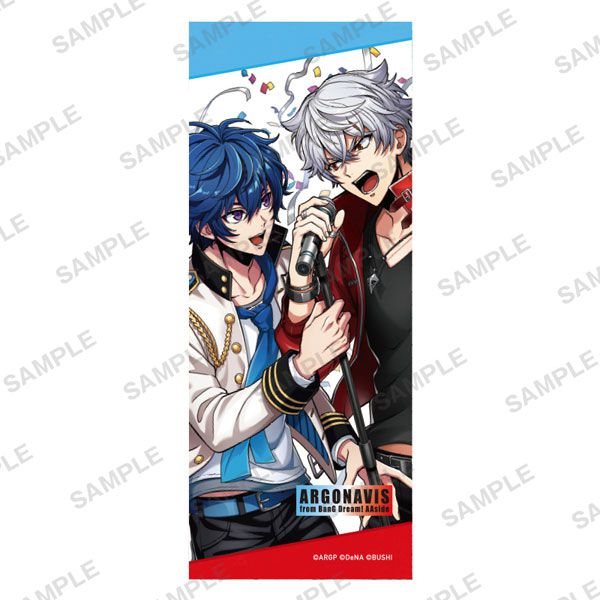 BanG Dream! AAside 「七星蓮 + 旭那由多」Duo ver. 毛巾 Face Towel Duo ver.【ARGONAVIS from BanG Dream! AAside】