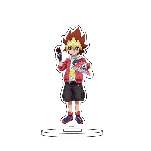 遊戲王 「王道遊我」亞克力企牌 Chara Acrylic Figure 01 Ohdo Yuga【Yu-Gi-Oh!】