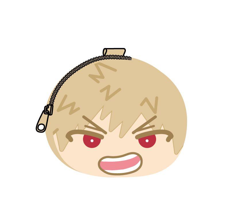 我的英雄學院 「爆豪勝己」鬆軟饅頭 散銀包 Omanju Fukafuka Pouch 2 Bakugo Katsuki【My Hero Academia】