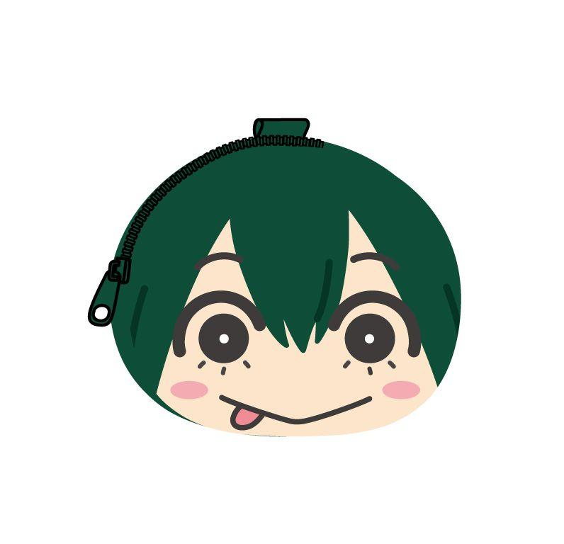 我的英雄學院 「蛙吹梅雨」鬆軟饅頭 散銀包 Omanju Fukafuka Pouch 5 Asui Tsuyu【My Hero Academia】