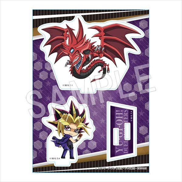 遊戲王 「武藤遊戲」2020 Winter fair ver. 亞克力企牌 Acrylic Figure Stand 2020 Winter Ver. Yami Yugi & Slifer the Sky Dragon【Yu-Gi-Oh!】