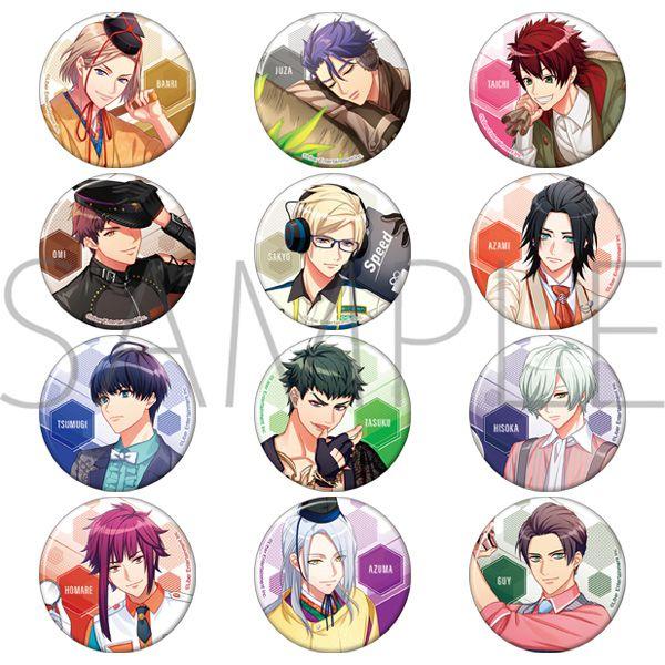 A3! 「秋組 + 冬組」原作遊戲插圖 收藏徽章 (12 個入) Can Badge Autumn & Winter Group Original App Game Ver. (12 Pieces)【A3!】