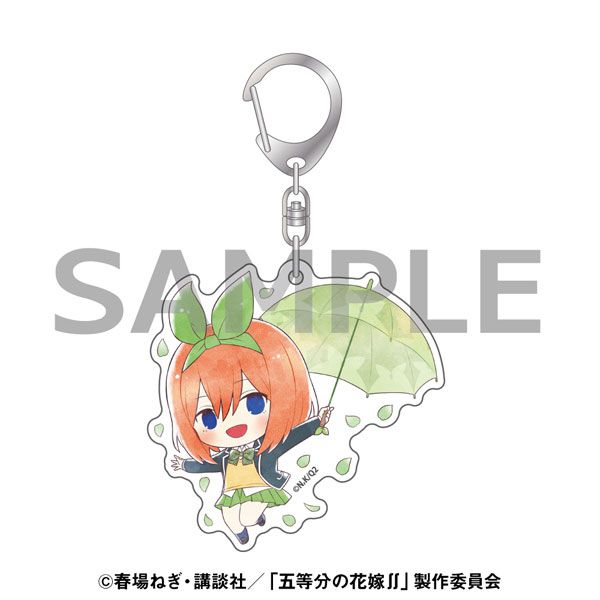五等分的新娘 「中野四葉」雨傘 Ver. 亞克力匙扣 Kasakko Acrylic Key Chain Yotsuba Nakano【The Quintessential Quintuplets】