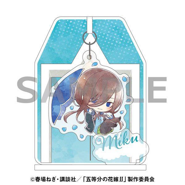 五等分的新娘 「中野三玖」雨傘 Ver. 搖呀搖 亞克力企牌 Kasakko Yurayura Acrylic Stand Miku Nakano【The Quintessential Quintuplets】