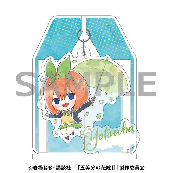 五等分的新娘 「中野四葉」雨傘 Ver. 搖呀搖 亞克力企牌 Kasakko Yurayura Acrylic Stand Yotsuba Nakano【The Quintessential Quintuplets】