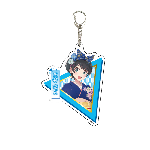 出租女友 「更科瑠夏」和服 Ver. 亞克力匙扣 Deka Acrylic Key Chain 07 Sarashina Ruka Kimono Ver.【Rent-A-Girlfriend】