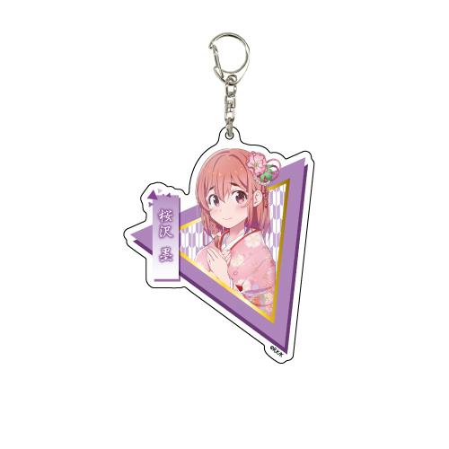 出租女友 「櫻澤墨」和服 Ver. 亞克力匙扣 Deka Acrylic Key Chain 08 Sakurasawa Sumi Kimono Ver.【Rent-A-Girlfriend】