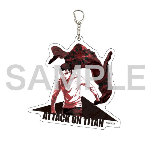 進擊的巨人 「艾倫」MANGEKYO 亞克力匙扣 Deka Acrylic Key Chain 01 Eren (MANGEKYO)【Attack on Titan】