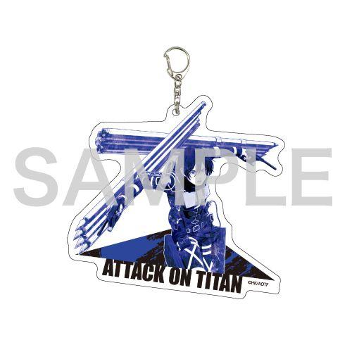 進擊的巨人 「米卡莎」MANGEKYO 亞克力匙扣 Deka Acrylic Key Chain 02 Mikasa (MANGEKYO)【Attack on Titan】