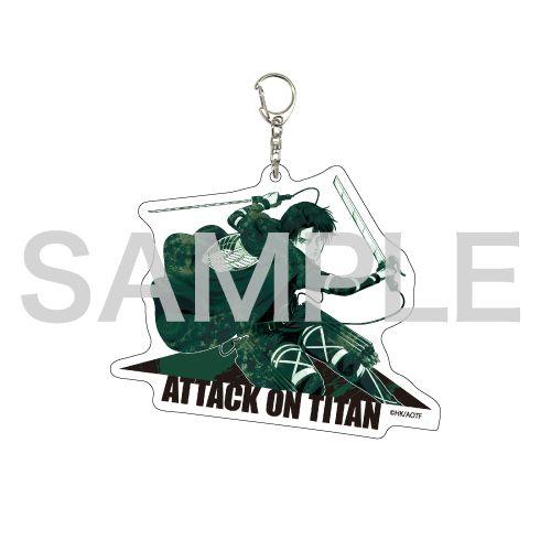 進擊的巨人 「里維」MANGEKYO 亞克力匙扣 Deka Acrylic Key Chain 04 Levi (MANGEKYO)【Attack on Titan】
