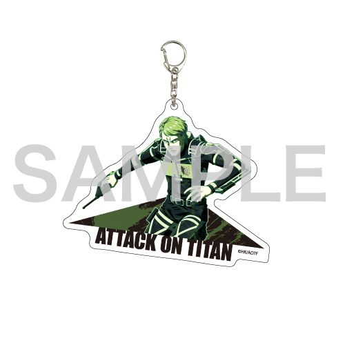 進擊的巨人 「約翰」MANGEKYO 亞克力匙扣 Deka Acrylic Key Chain 05 Jean (MANGEKYO)【Attack on Titan】