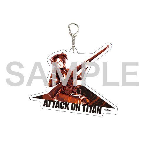 進擊的巨人 「莎夏」MANGEKYO 亞克力匙扣 Deka Acrylic Key Chain 06 Sasha (MANGEKYO)【Attack on Titan】
