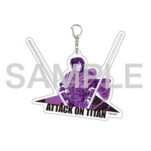 進擊的巨人 「韓吉」MANGEKYO 亞克力匙扣 Deka Acrylic Key Chain 07 Hans (MANGEKYO)【Attack on Titan】