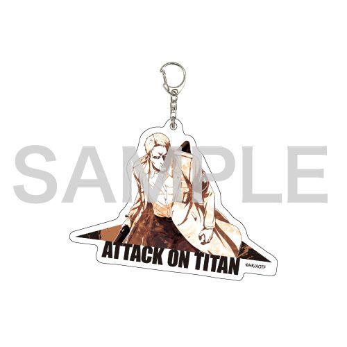 進擊的巨人 「萊納」MANGEKYO 亞克力匙扣 Deka Acrylic Key Chain 08 Reiner (MANGEKYO)【Attack on Titan】