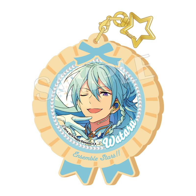 合奏明星 「日日樹涉」Pitatto 橡膠匙扣 Ver.2 Pitatto Key Chain Ver. 2 Hibiki Wataru【Ensemble Stars!】