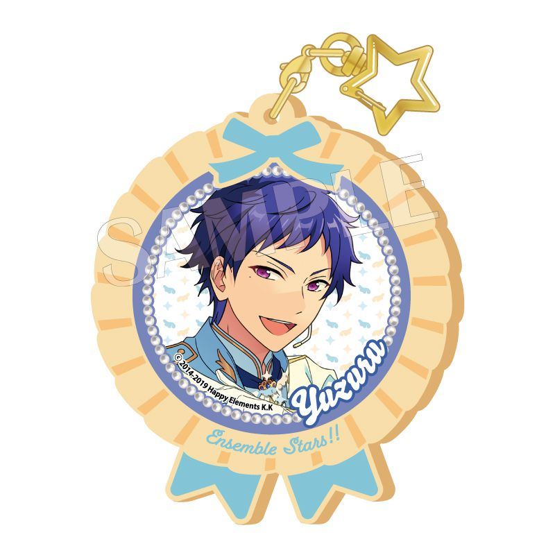 合奏明星 「伏見弓弦」Pitatto 橡膠匙扣 Ver.2 Pitatto Key Chain Ver. 2 Fushimi Yuzuru【Ensemble Stars!】