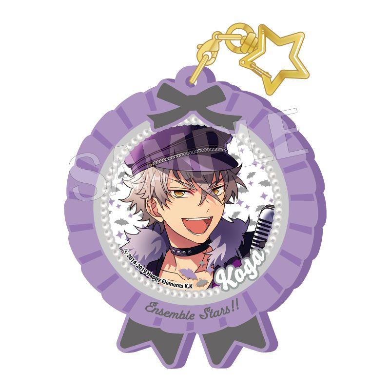 合奏明星 「大神晃牙」Pitatto 橡膠匙扣 Ver.2 Pitatto Key Chain Ver. 2 Ogami Koga【Ensemble Stars!】