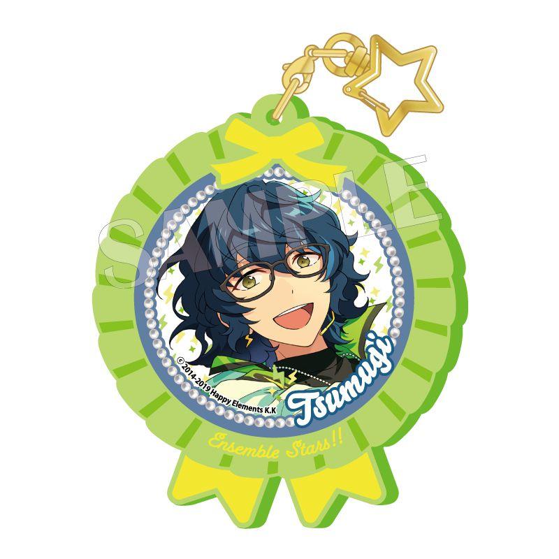 合奏明星 「青葉つむぎ」Pitatto 橡膠匙扣 Ver.2 Pitatto Key Chain Ver. 2 Aoba Tsumugi【Ensemble Stars!】