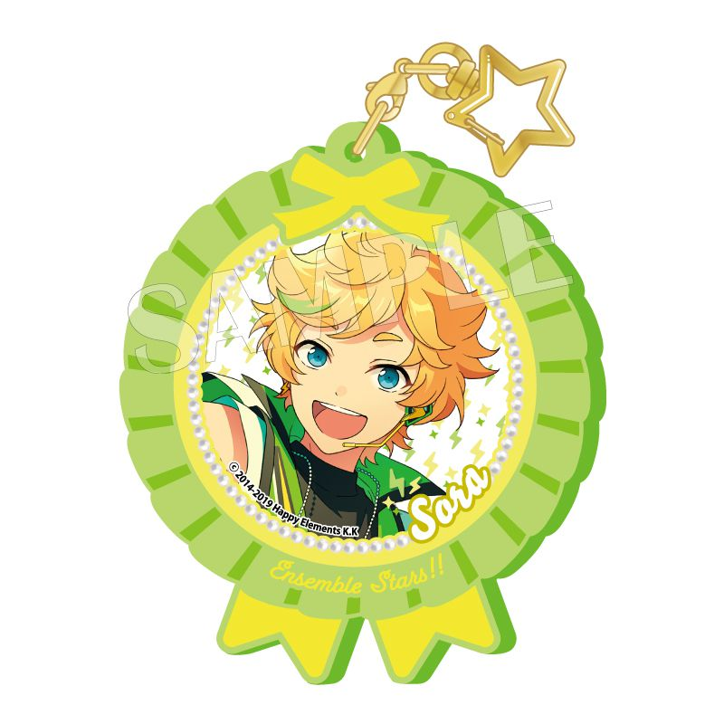 合奏明星 「春川宙」Pitatto 橡膠匙扣 Ver.2 Pitatto Key Chain Ver. 2 Harukawa Sora【Ensemble Stars!】