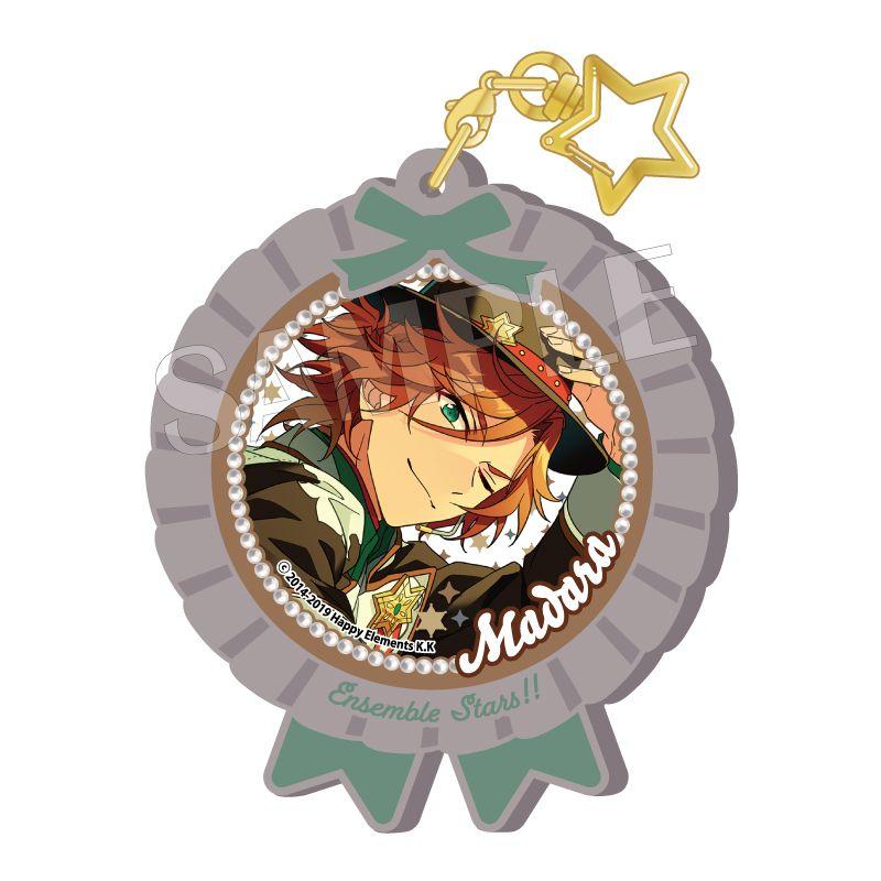 合奏明星 「三毛縞斑」Pitatto 橡膠匙扣 Ver.2 Pitatto Key Chain Ver. 2 Mikejima Madara【Ensemble Stars!】