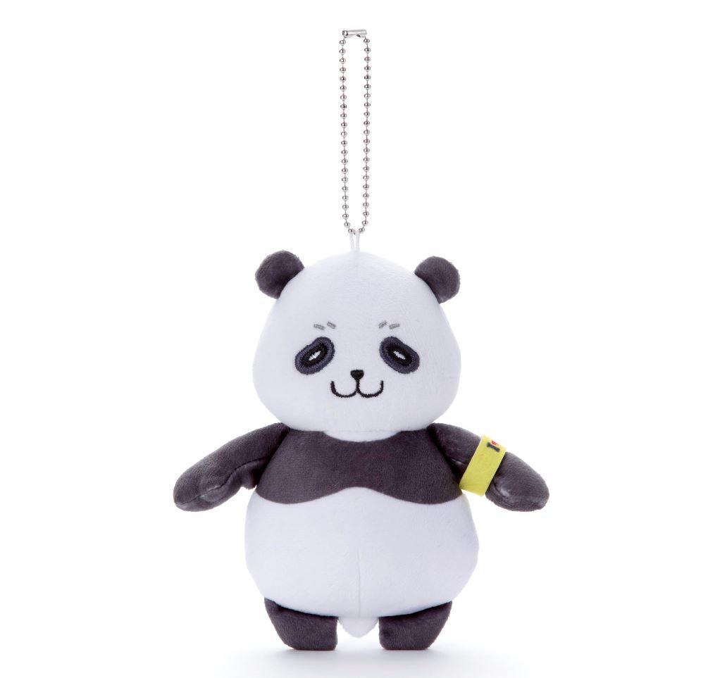 咒術迴戰 「胖達」豆豆眼 公仔掛飾 Nitotan Plush with Ball Chain Panda【Jujutsu Kaisen】