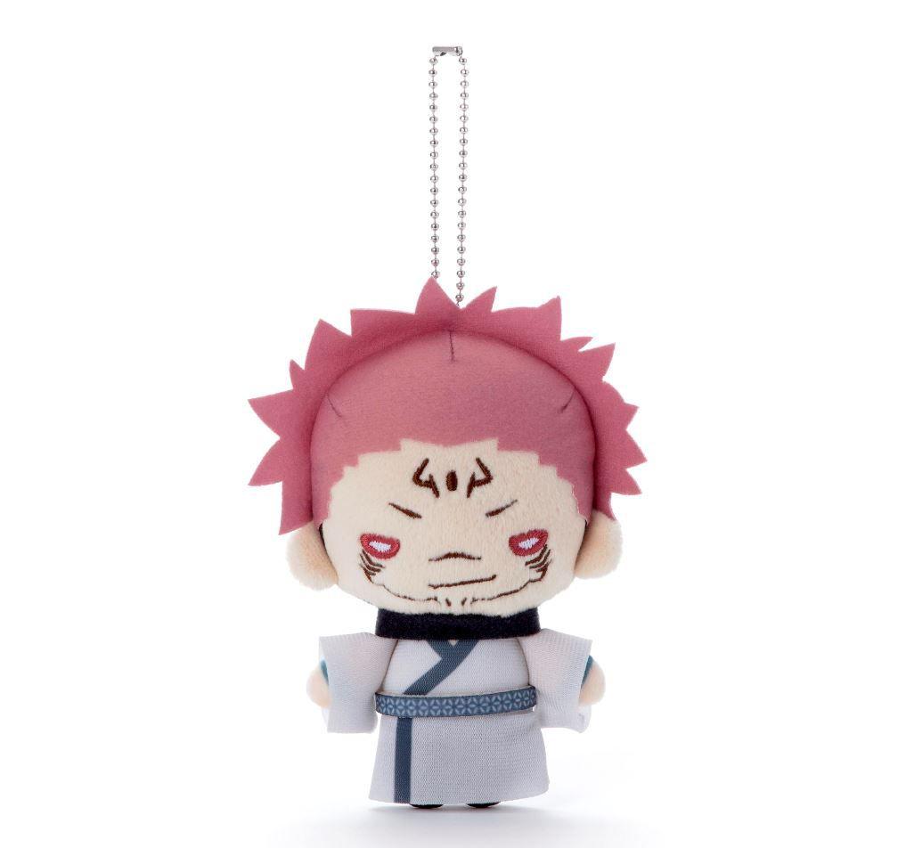 咒術迴戰 「兩面宿儺」豆豆眼 公仔掛飾 Nitotan Plush with Ball Chain Ryomen Sukuna【Jujutsu Kaisen】