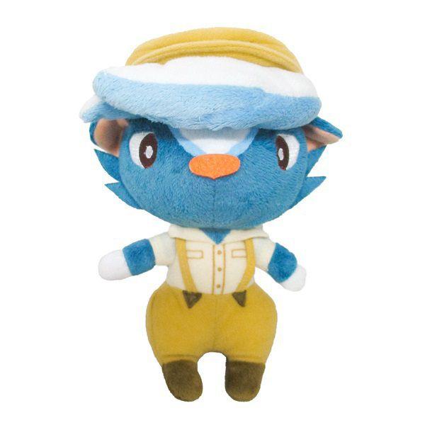 動物之森 「薛革」(S Size) 毛公仔 Plush DP17 Kicks (S Size)【Animal Crossing】