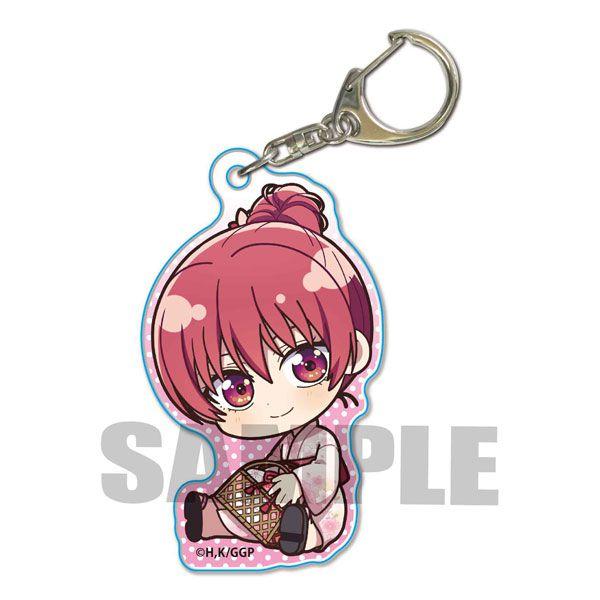 女朋友 and 女朋友 「佐木咲」抱著最愛 亞克力匙扣 Gyugyutto Acrylic Key Chain Saki Saki (Yukata)【Girlfriend, Girlfriend】