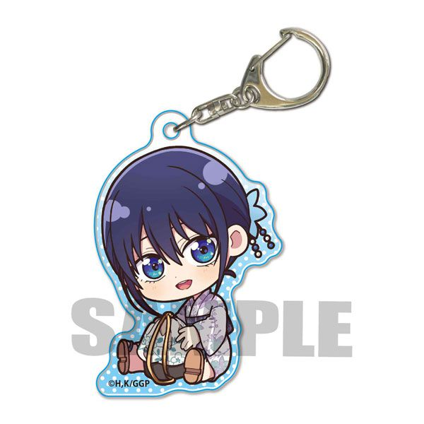 女朋友 and 女朋友 「水瀨渚」抱著最愛 亞克力匙扣 Gyugyutto Acrylic Key Chain Minase Nagisa (Yukata)【Girlfriend, Girlfriend】