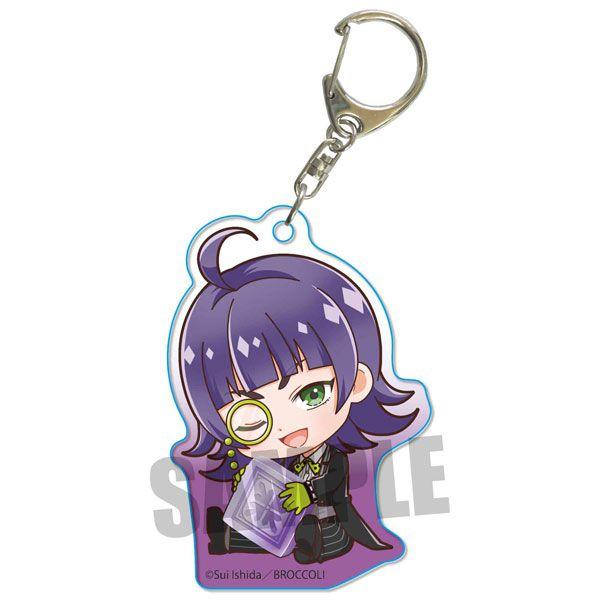 Jack Jeanne 「根地黑門」抱著最愛 亞克力匙扣 Gyugyutto Acrylic Key Chain Kokuto Neji【Jack Jeanne】