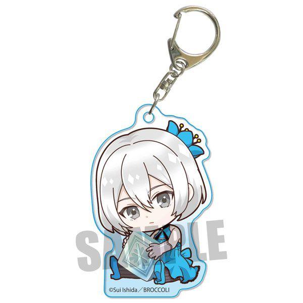 Jack Jeanne 「白田美ツ騎」抱著最愛 亞克力匙扣 Gyugyutto Acrylic Key Chain Mitsuki Shirota【Jack Jeanne】