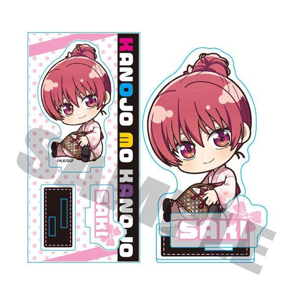 女朋友 and 女朋友 「佐木咲」浴衣 亞克力企牌 Gyugyutto Acrylic Figure Saki Saki (Yukata)【Girlfriend, Girlfriend】